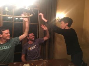 post-avalon celebrating